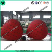 Quality Fruits Festival Inflatable Model Holiday Event Inflatable Strawberry for sale