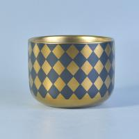 Quality Decorative Ceramic Vessels For Candles , ceramic tealight candle holders for sale