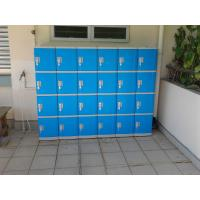 Quality Color Door 5 Tier Lockers For Office , Coin Return Lockers For Supermarket for sale