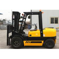 4 Tonne Four Wheel Drive Forklift , Double Mast Forklift With Fork Positoner