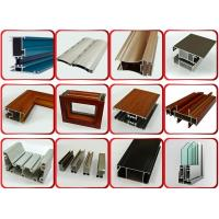 Quality Furniture Decoration Powder Coating Aluminium Profiles AA6063 T5 for sale