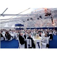 Quality Waterproof White PVC Wedding Outdoor Party Tents For 600 People for sale