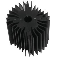 Buy Drilling Bronze Aluminum Notebook Cooler Heatsink Extrusion Profiles Industrial at wholesale prices