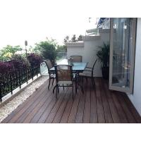 Buy cheap outdoor carbonized strand woven bamboo flooring from wholesalers