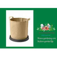 "Buy Plastic Flower Pot Saucers / Plant Pot Trays Prevents Water Stains On Decks ​Large: is 13"" inside diameter, 18"" outside at wholesale prices"