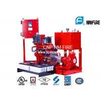 Quality End Suction Centrifugal Diesel Engine Driven Fire Pump With 44kw Max Shaft Power for sale
