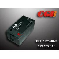 Quality GEL - AG Seies Solar Wind System ABS Platic Battery GEL122550AG 12V 255AH for sale