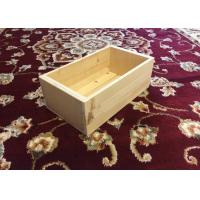Quality Rectangle Shape Custom Wood Serving Tray For Books 35cm X 15cm X 10cm for sale