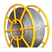 China Used In Pulling Conductor Galvanized Anti-twisting Braided Wire Rope on sale