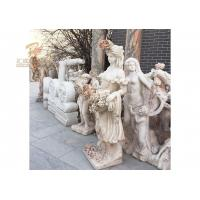 Quality Life Size Hand Carved Marble Lady Statue for sale