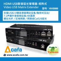 Buy cheap UHD 4K HDMI USB2.0 KVM switch +Matrix console Extender over IP and Fiber from wholesalers