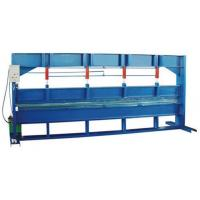 Buy cheap Blue Color 4m Width Hydraulic Sheet Bending MachineFor Galvanized Steel Coil from wholesalers