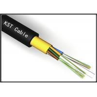 Quality Light Weight Dielectric Fiber Optic Cable Kevlar Yarn Aerial Optical Fiber Cable for sale
