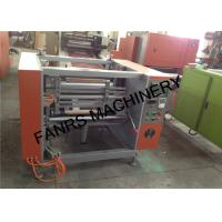 Quality Semi-auto Kitchen Aluminium Foil Rewinder Machine With Automatic Stop Switch for sale