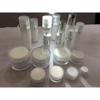 Quality empty clear acrylic cream Lotion cosmetic Jars with Liner 5g 10g 20g 30g 50g 100g 200g for sale
