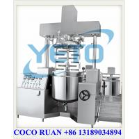 China Vacuum Tank Mixer, Inline homogenizer/disperser/emulsifier,vacuum cosmetic cream emulsifer equipment on sale