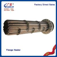 Quality electric finned flange heater for sale