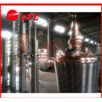 Quality 100Gal Stainless Steel Distillation Equipment For Fruitful Flavor / Spices for sale