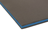 Quality 25-333kg/m3 Density Pantone Color Acoustic Soundproofing Xpe Foam for sale
