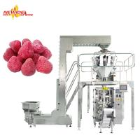 Quality VFFS Automatic Frozen Vegetable / Fruit Packing Machine With Touch Screen for sale