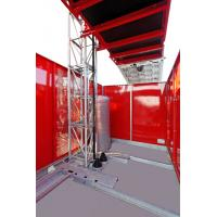 Quality 60m / min Construction Material Hoist 2700kg for Warehouse / High Tower for sale