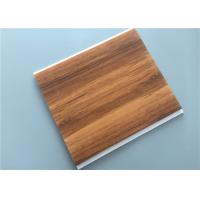 Quality Hot Stamping PVC Wood Panels For Hotel / Bedroom / Bathroom 10 Inch for sale
