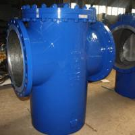 Quality Carbon Steel A216 WCB Flanged Simplex Basket Strainer, ANSI 150LB - 300LB - 600LB Basket Filter for sale