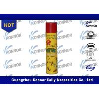 Buy cheap Mosquito Flies / Cockroaches and Ants Insecticide Spray Aerosol 300ML 400ML from wholesalers