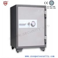 Quality Powder Coating 65L security Fire Resistant Safe box with 28 / 25mm 2 Dead Bolts for stock / shares markets for sale