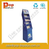 China Corrugated Custom Floor Display Stands For Market Promotion on sale
