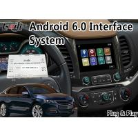 Quality Car DVD Android Auto Interface , Mirror Link Navigation For Chevrolet Impala / Suburban Waze Spotify for sale