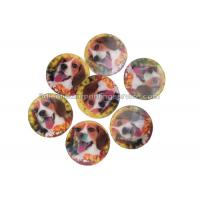 Quality PET / PP Lovely Animal Image Sticker 3d Lenticular Printing Adhesive For Kids for sale