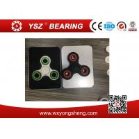 Buy ABS Plastic Non - 3D Printed Tri Fidget Spinner Toys Short Lead Time at wholesale prices