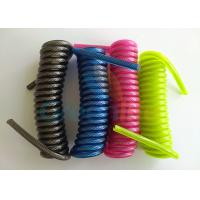 Quality 4'' Retractable Security Cable Deluxe Coil Strap 1.2-8.0MM Dia Without End Fittings for sale