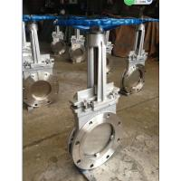 """Quality SS316 8"""" Cast Steel Gate Valve for paper pulp , sewage DN50 ~ DN 2000 for sale"""