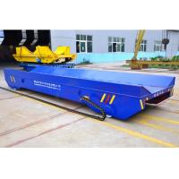 5t towing chain power self-driven rail vehicle cylinder materials for production line