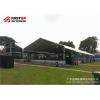Buy Flame Retardant 30x40 Party Tent , Heated Wedding Tents Customized Color at wholesale prices