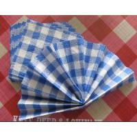 Quality Colorful Lattice Paper Napkin in 1, 2 and 3 Layers for sale