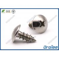 Quality Passivated 410 Stainless Steel Philips Truss Head Sheet Metal Screws for sale