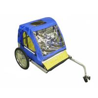 Buy 420D waterproof polyester textile with PU coating Double Bike Trailers with ASTM at wholesale prices
