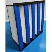 Quality Compact H14 HEPA Filter With ABS Frame / HEPA Air Filtration System for sale