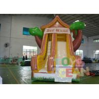 China Residential Backyard Rent Inflatable Slides Indoor With Tree Shape on sale