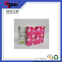 Quality Office Stationery Supplier Wholesale Customized 3 Ring Binders PP File Folder for sale