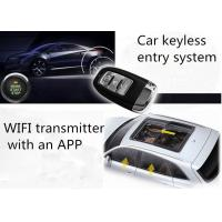 Quality 70-100Kpa anti theft car security system WiFi remote controller Smartphone Car Alarm for sale