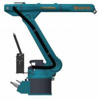 Customized Material Handling Robots , Mini Robot Arm For Partners