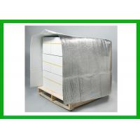 Quality Silver Reflective Insulated Pallet Covers Thermal Cooler Pallet Cap for sale