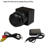 Quality HD FPV Camera 480TVL Mini CCTV Camera 1/4 CMOS 170 Degree Wide View Anlge for sale