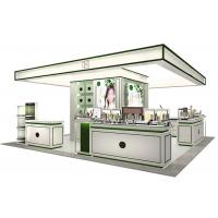 Quality Elegant Style Retail Display Cases Wooden Frame With Tempered Glass for sale