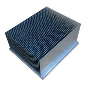 Quality Clear anodized  Aluminum Extrusion Heatsink For Aluminum Radiator for sale