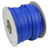 Quality Tight PET Expandable Braided Sleeving Corrosion Resistance For Cable Wire Sheath for sale